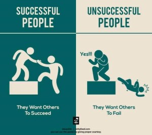 Info graphic success embrace 3